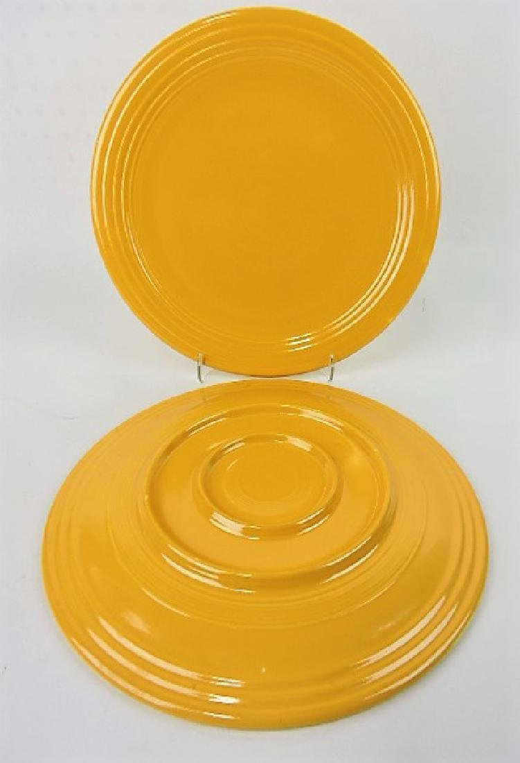 "Fiesta 13"" chop plate group, 2 yellow, both - 2"