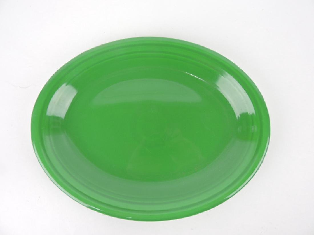 Fiesta platter, medium green