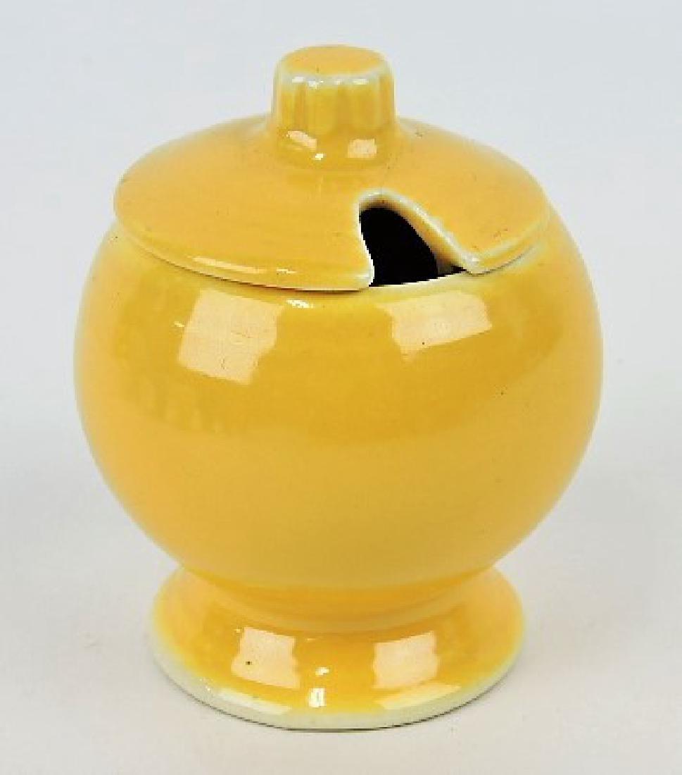 Fiesta mustard, yellow, minor hairline to