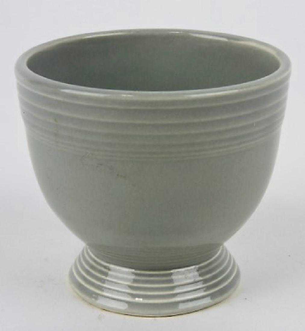Fiesta egg cup, gray