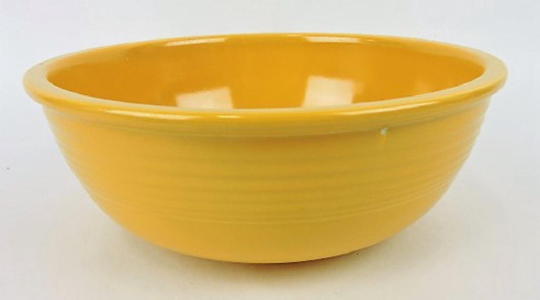 Fiesta unlisted salad bowl, yellow, wear,