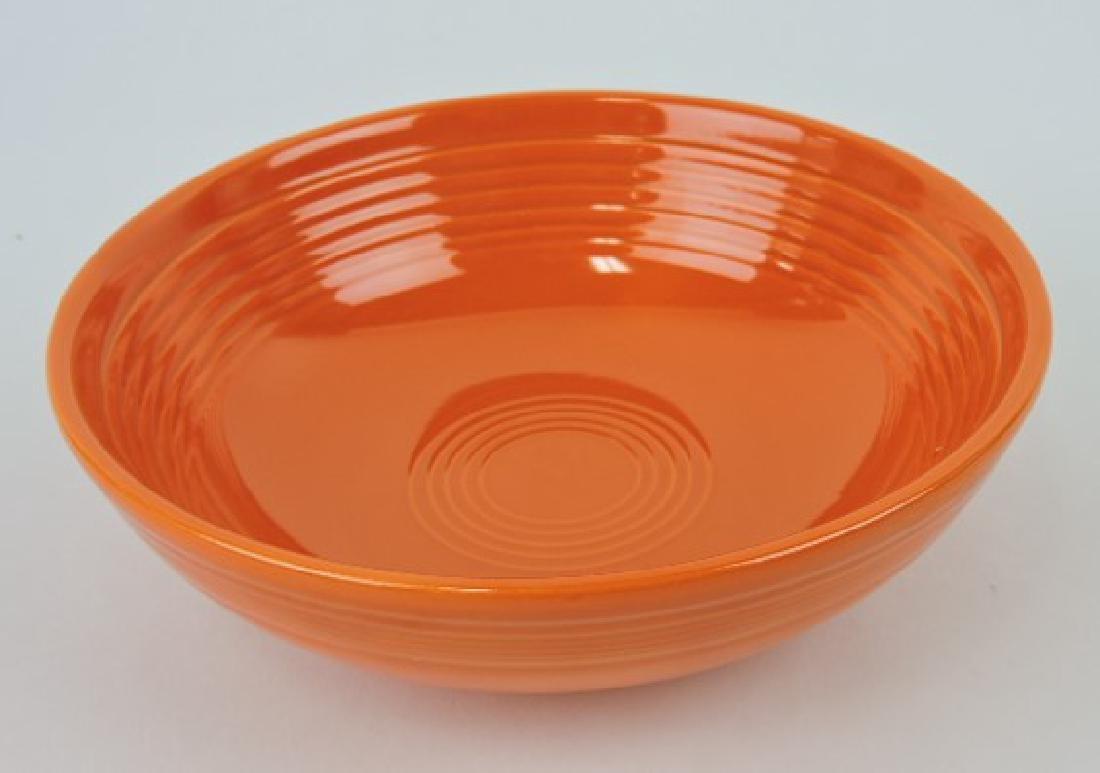 Fiesta individual salad bowl, red