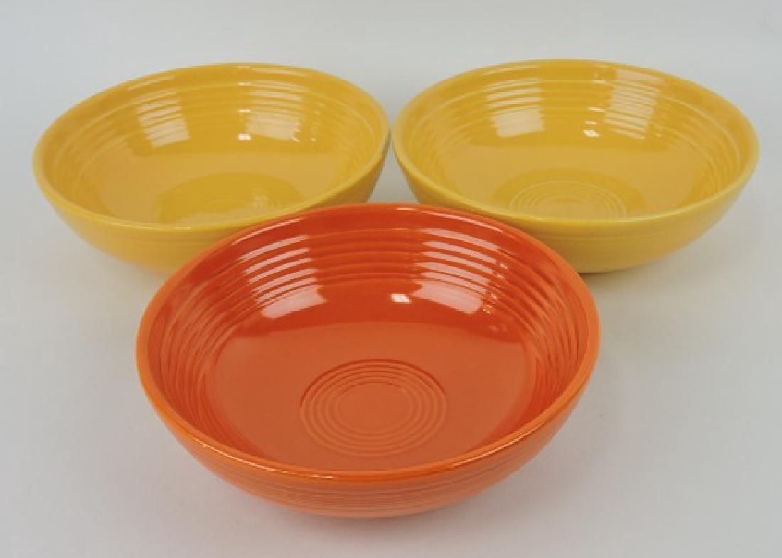 Fiesta individual salad bowl group: red,