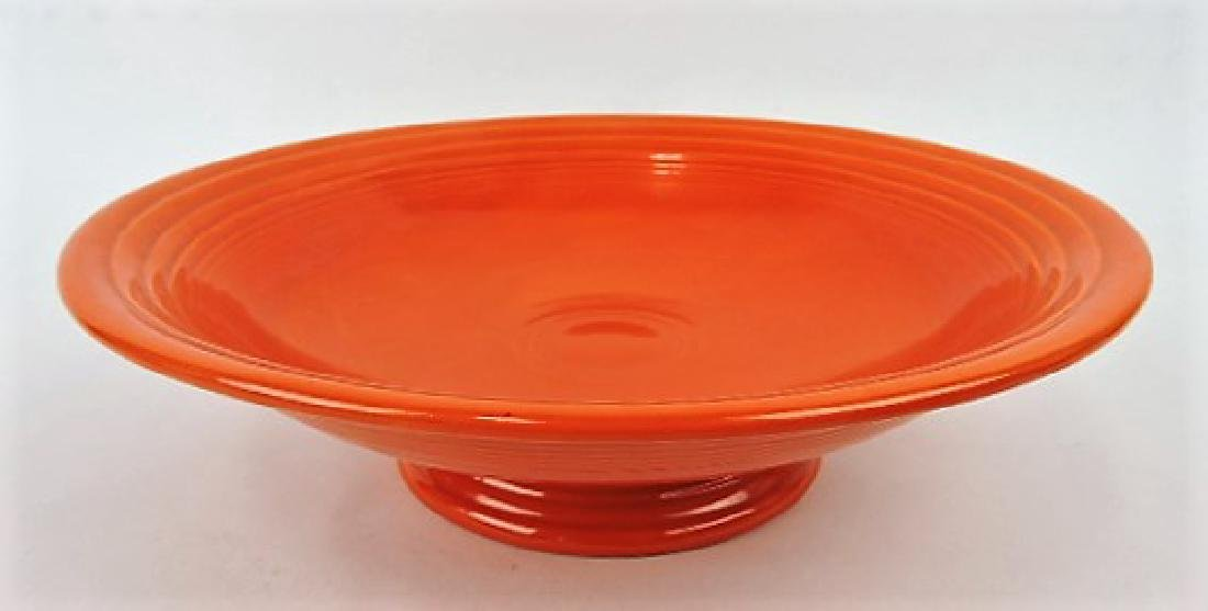 "Fiesta 12"" fruit compote, red"
