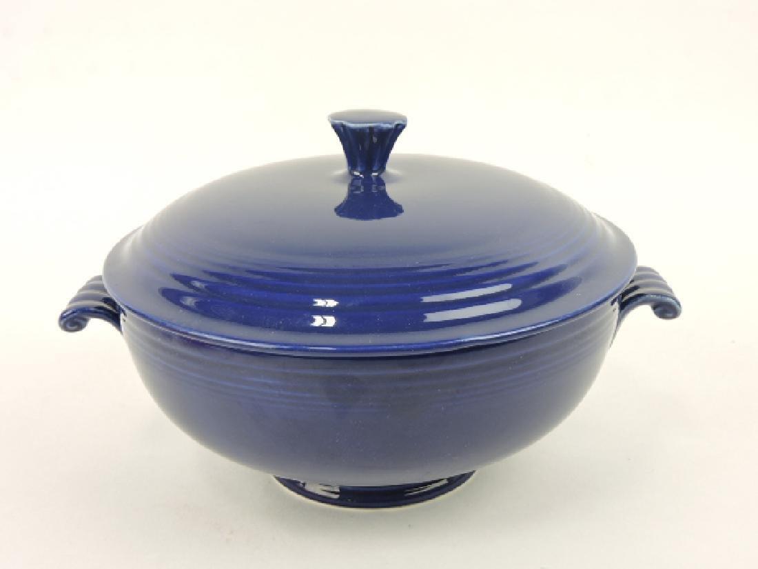 Fiesta casserole, cobalt