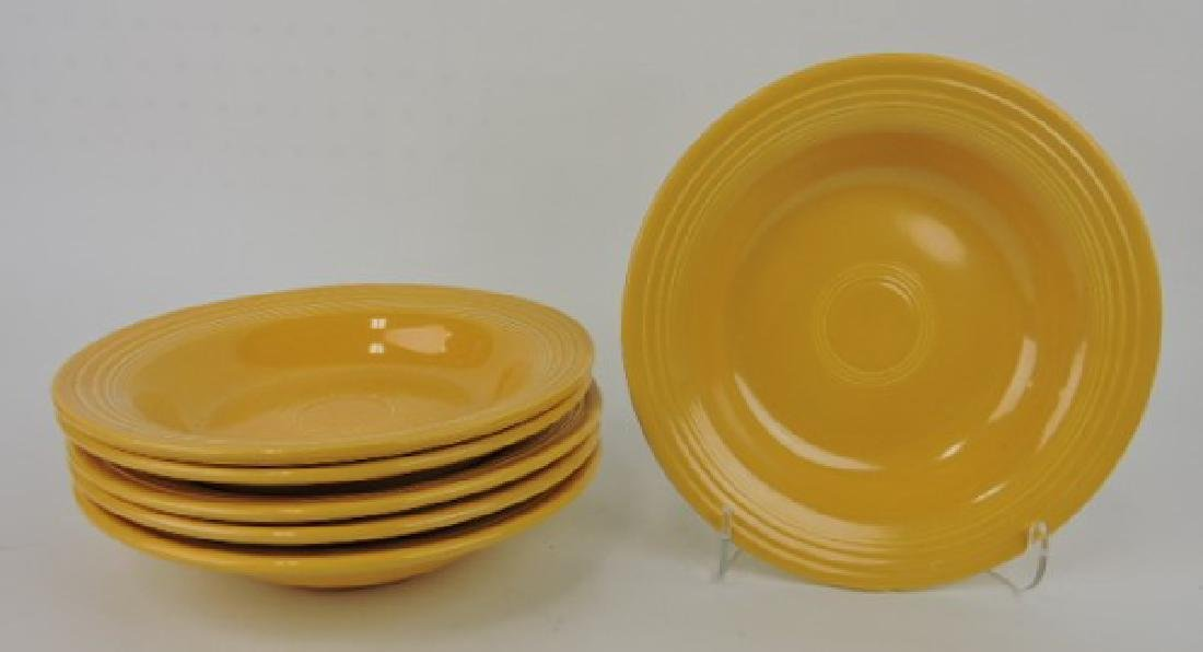 Fiesta deep plate group: 6 yellow