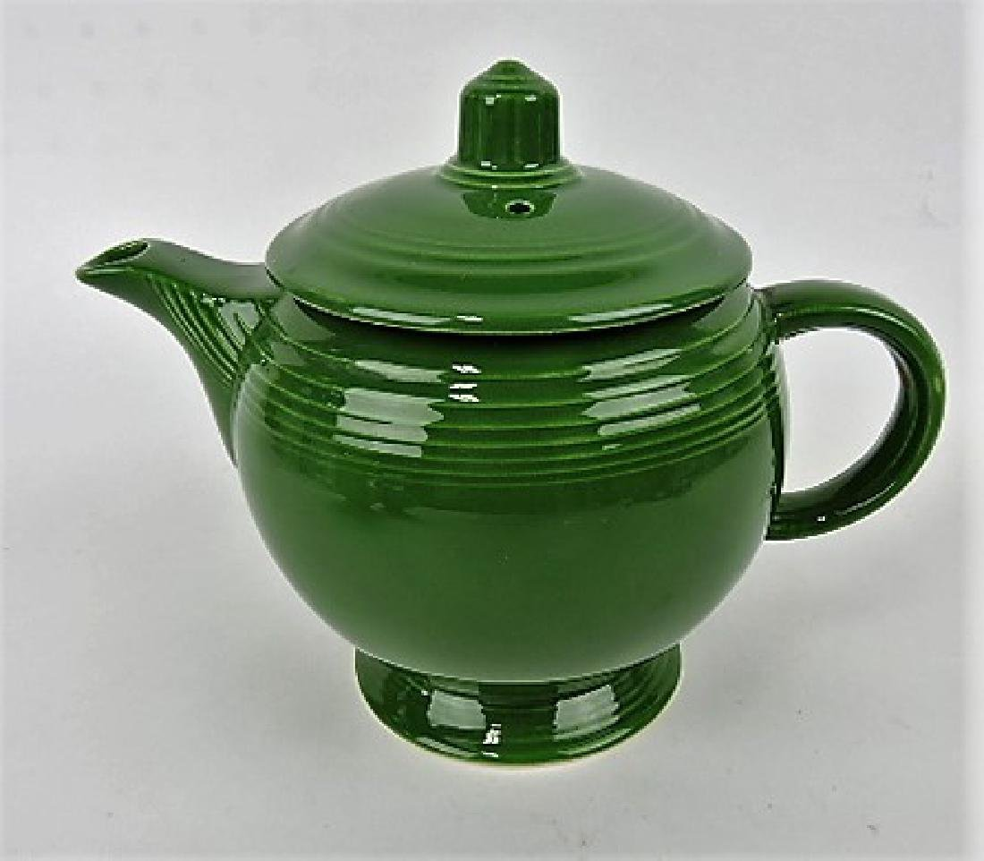 Fiesta medium teapot, dark green, lid