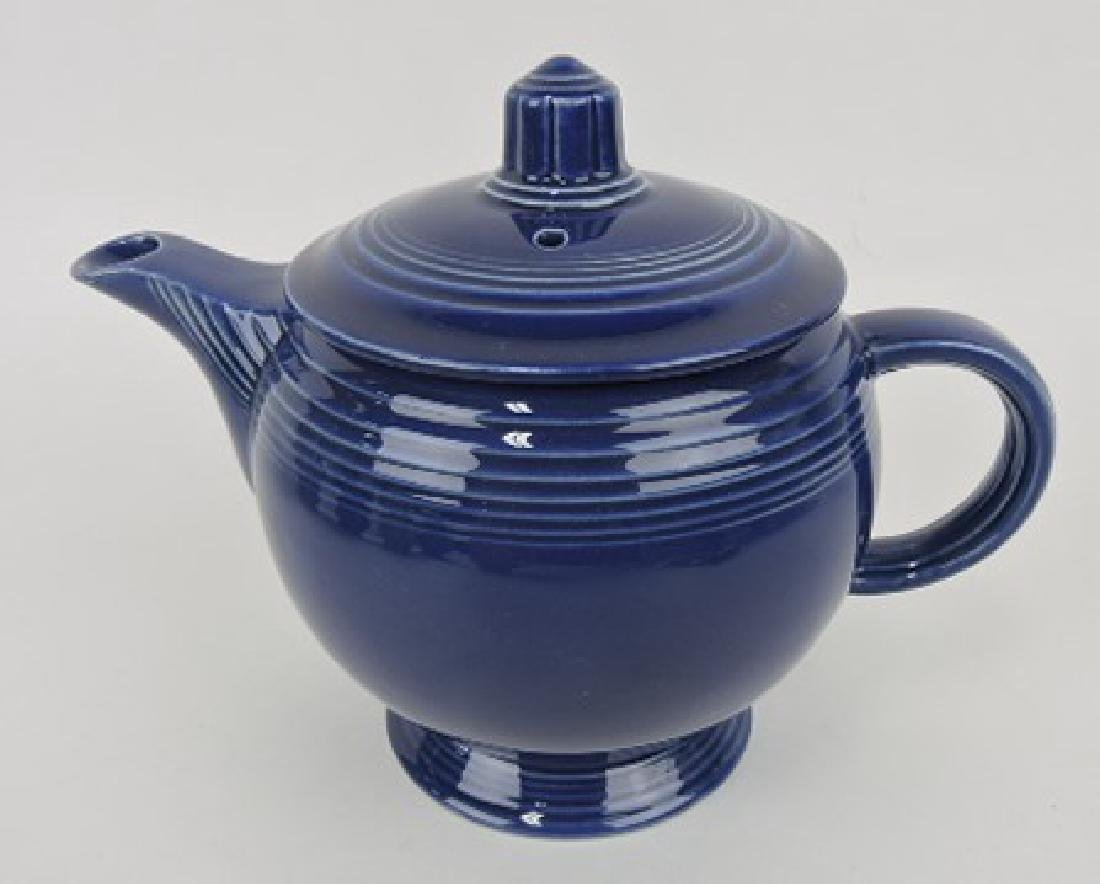 Fiesta medium teapot, cobalt
