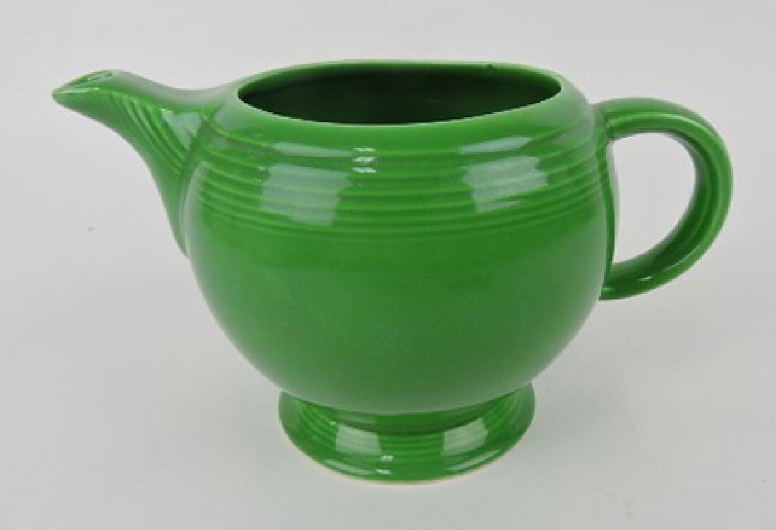 Fiesta medium teapot base, medium green,