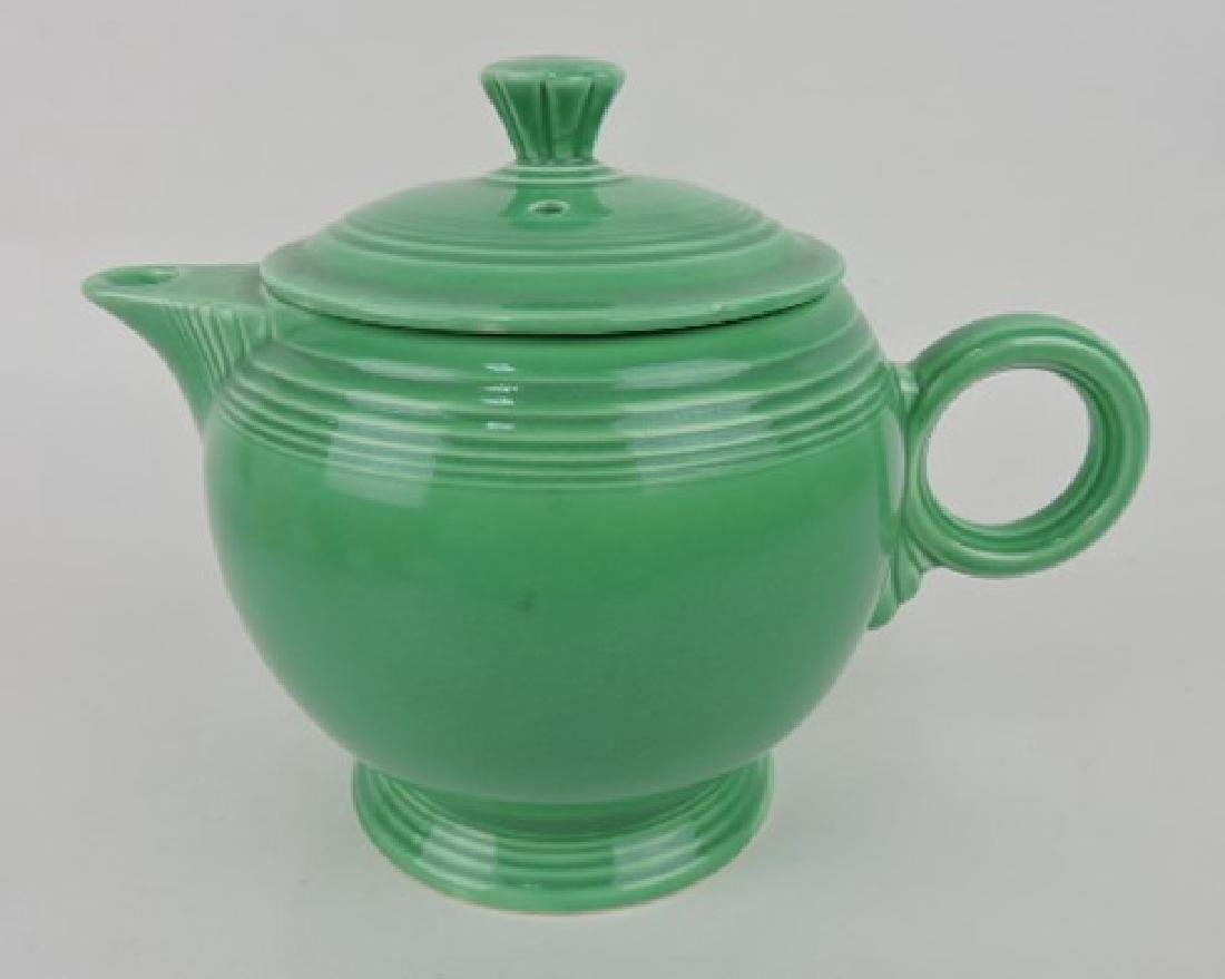 Fiesta large teapot, green
