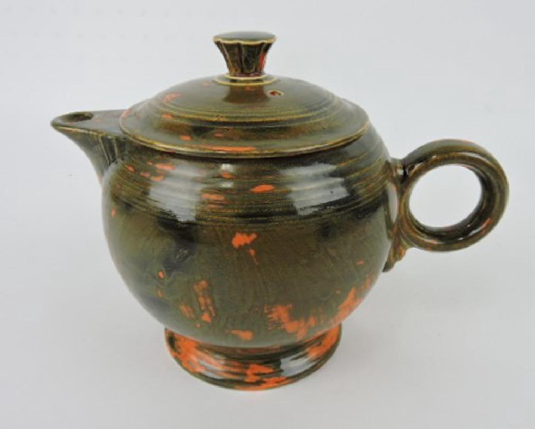 RARE Fiesta large teapot, rare mottled