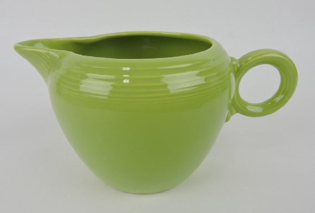 Fiesta two pint jug, chartreuse