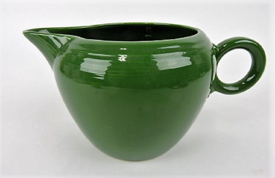 Fiesta two pint jug, dark green