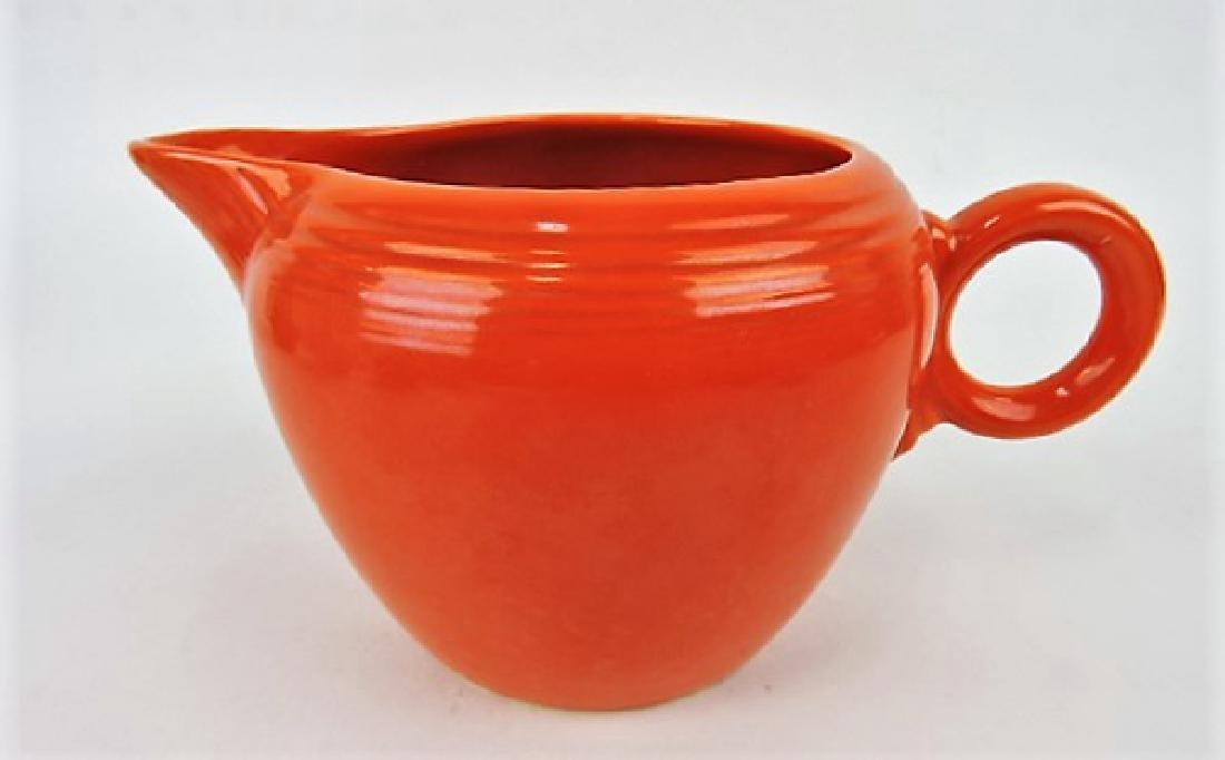 Fiesta two pint jug, red