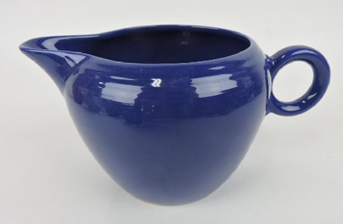 Fiesta two pint jug, cobalt