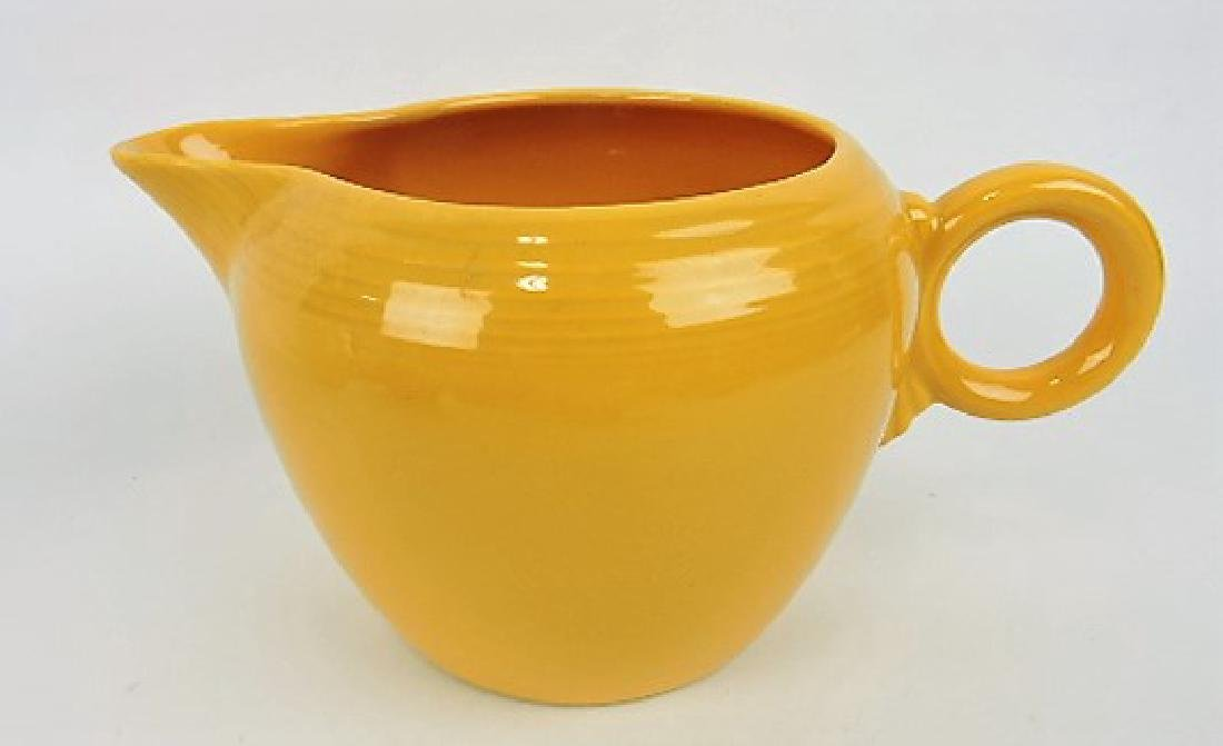 Fiesta two pint jug, yellow