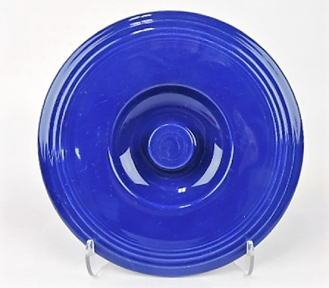 Fiesta #4 mixing bowl lid, cobalt