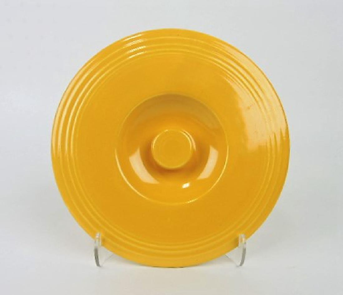 Fiesta #4 mixing bowl lid, yellow