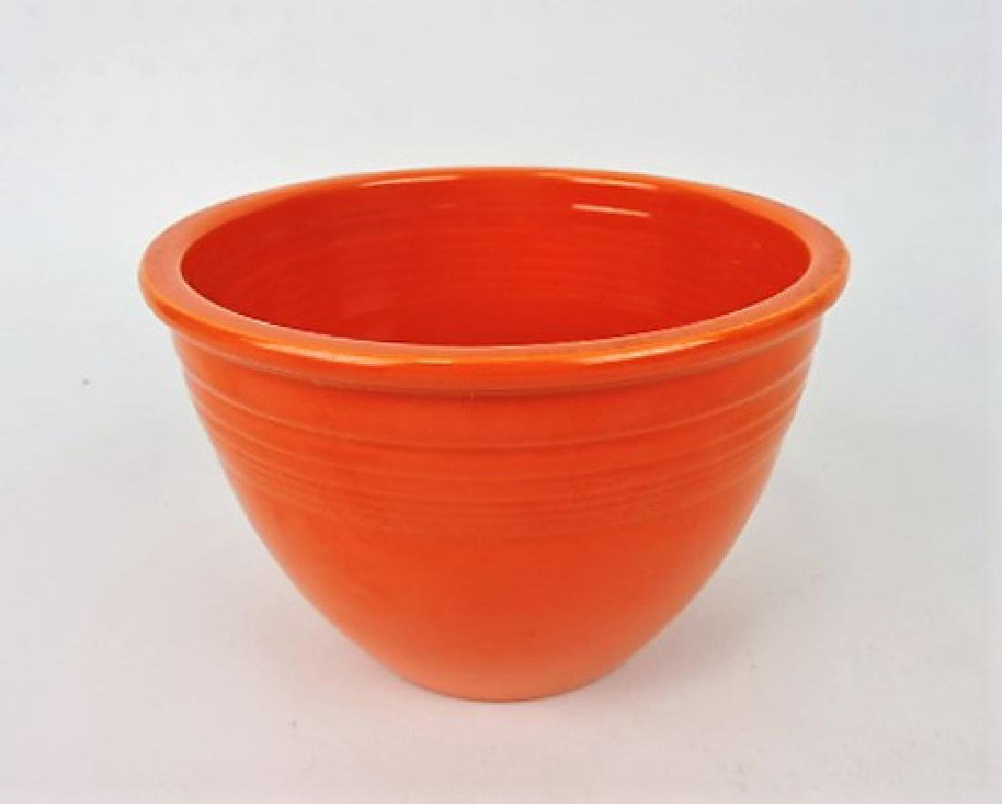 Fiesta mixing bowl, #3, red