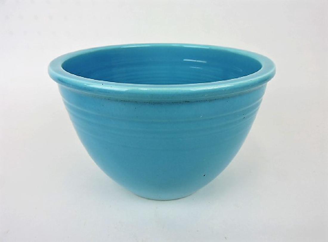 Fiesta mixing bowl, #4 turquoise