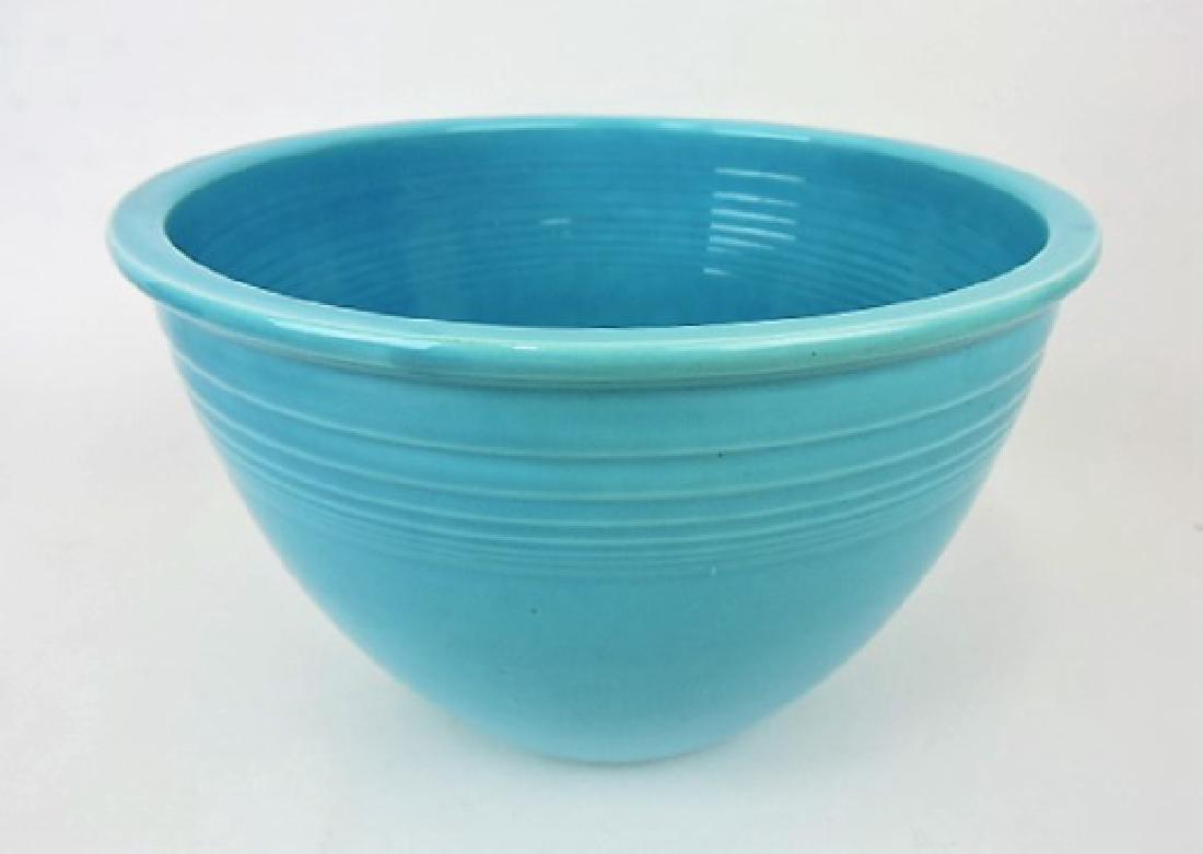Fiesta mixing bowl, #6 turquoise