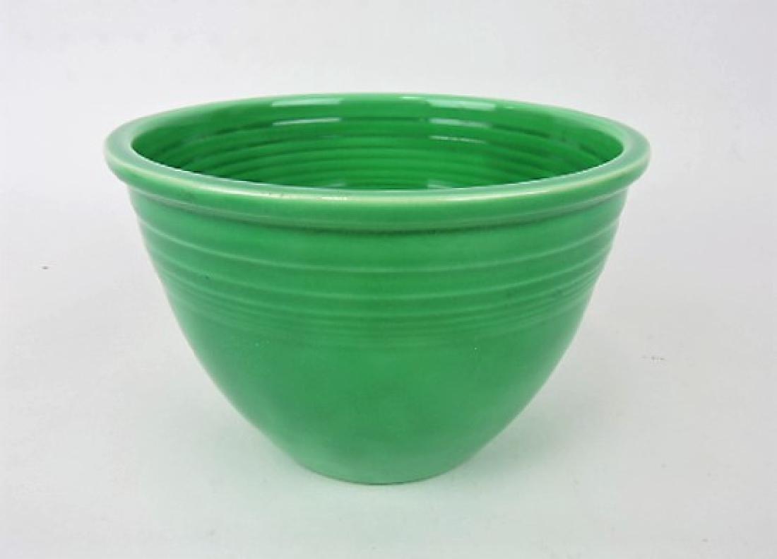 Fiesta mixing bowl, #3 green