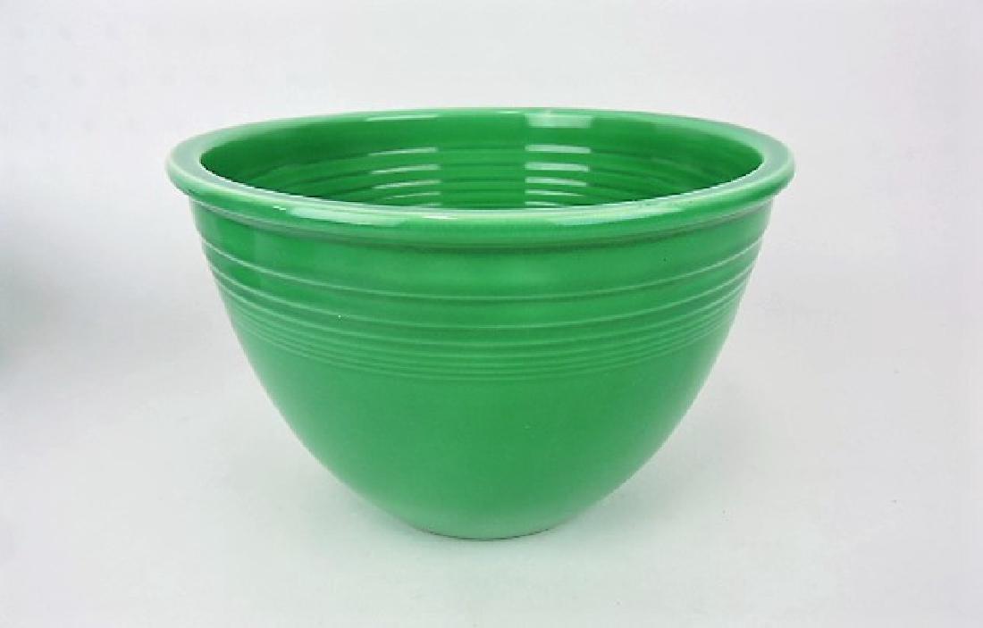 Fiesta mixing bowl, #5 green