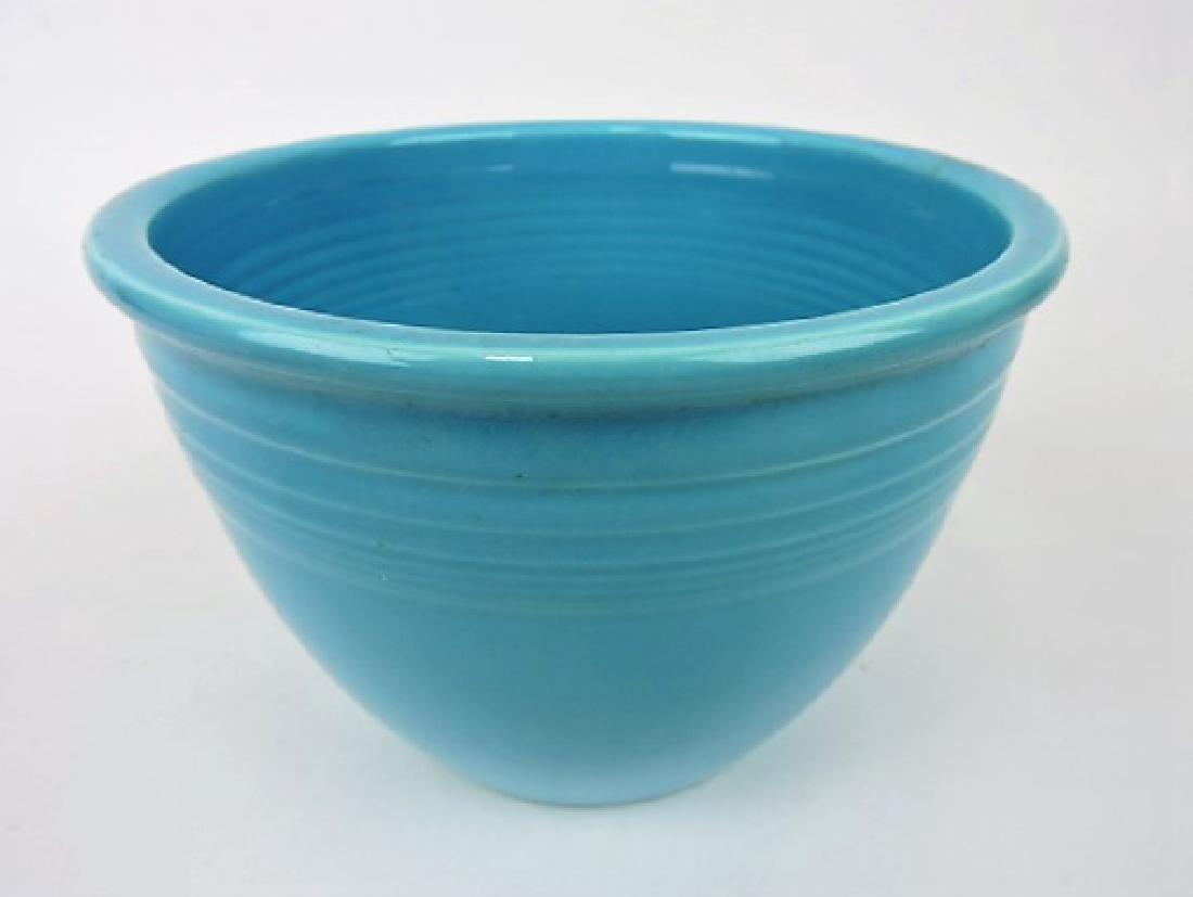 Fiesta mixing bowl, #3 turquoise