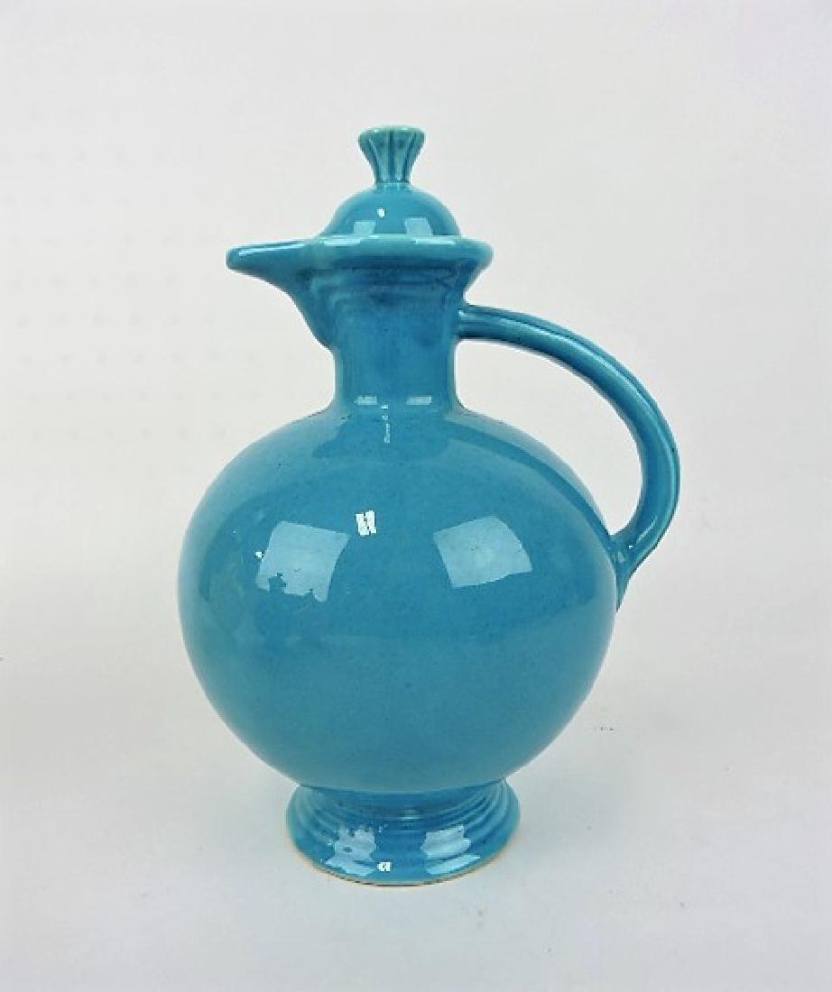 Fiesta water carafe, turquoise