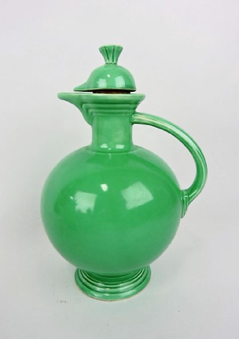 Fiesta water carafe, green