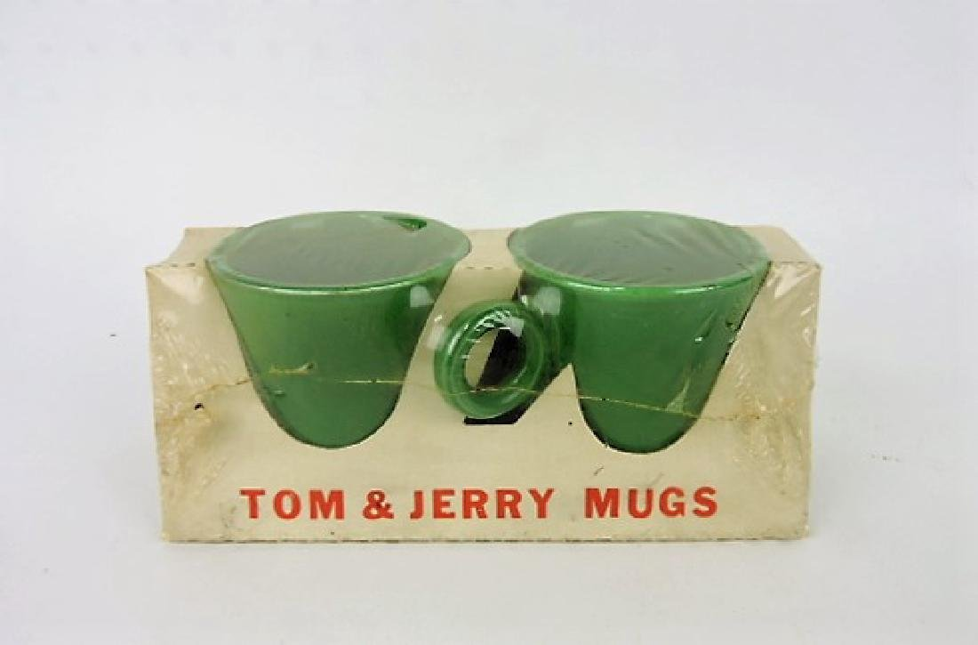 FIesta pair of medium green mugs in original