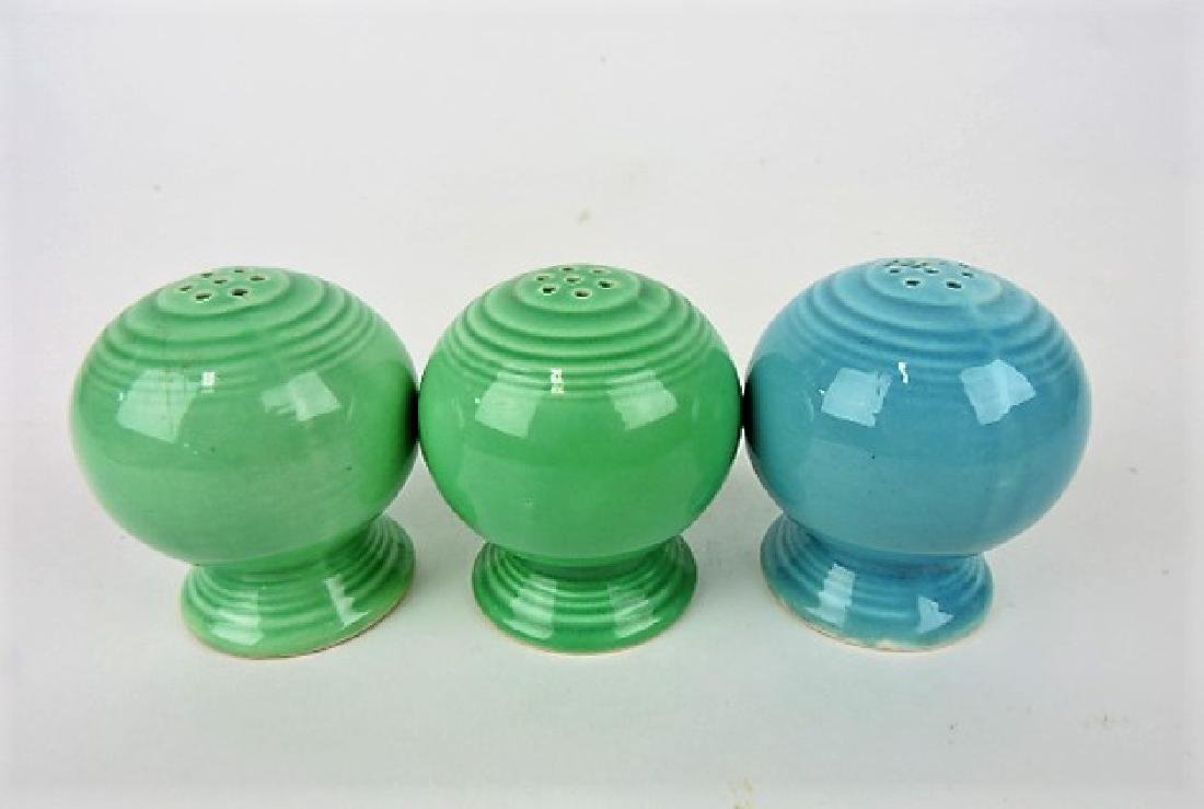 Fiesta salt & pepper group, 2 green, 1