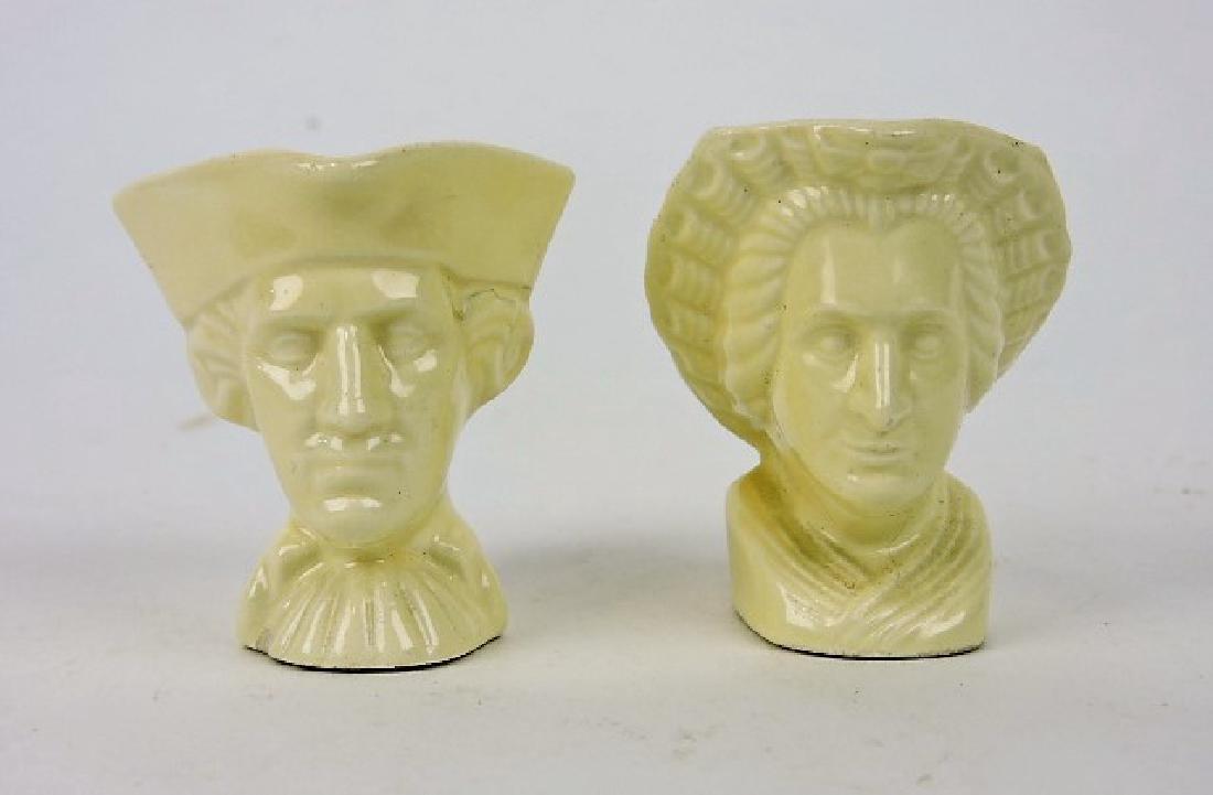 Fiesta ivory miniature George & Martha