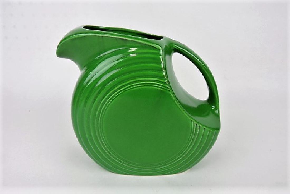 Fiesta disk water pitcher, medium green