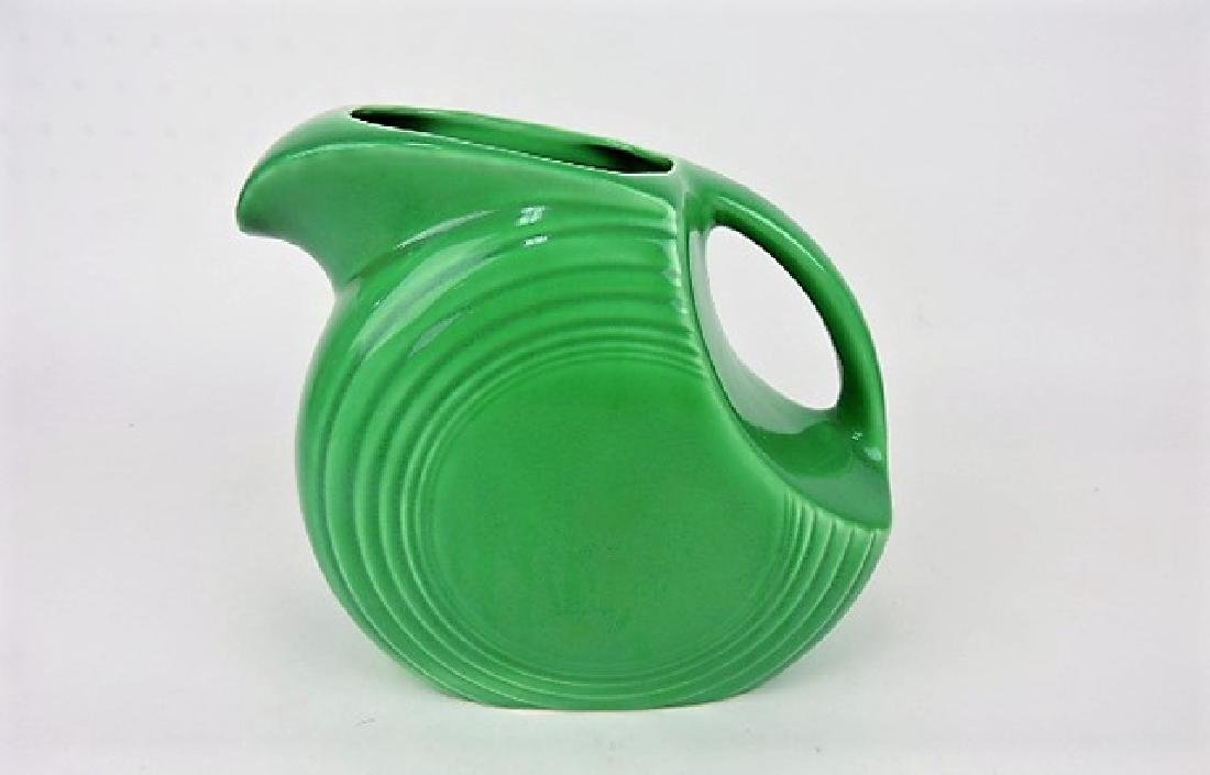 Fiesta disk water pitcher, green