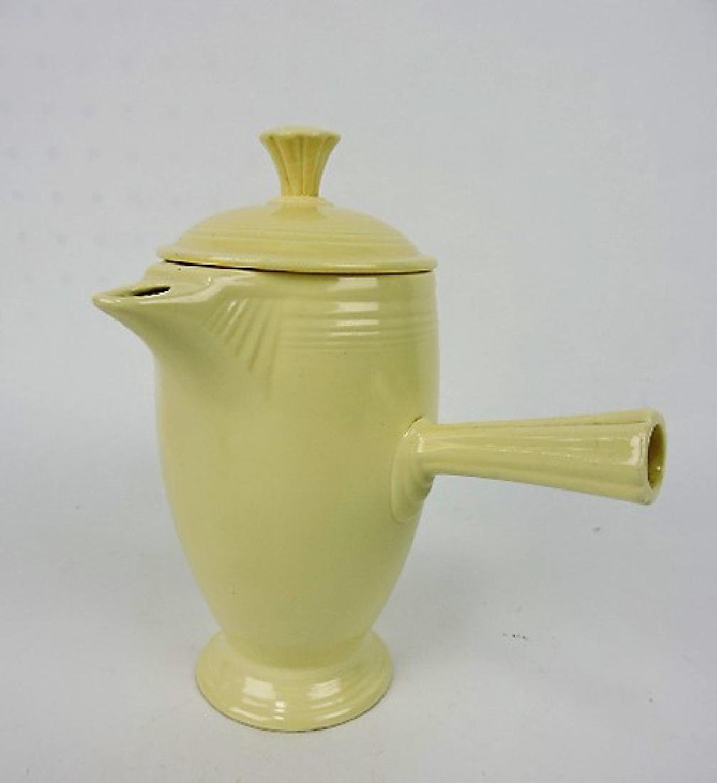 Fiesta demitasse coffee pot, ivory