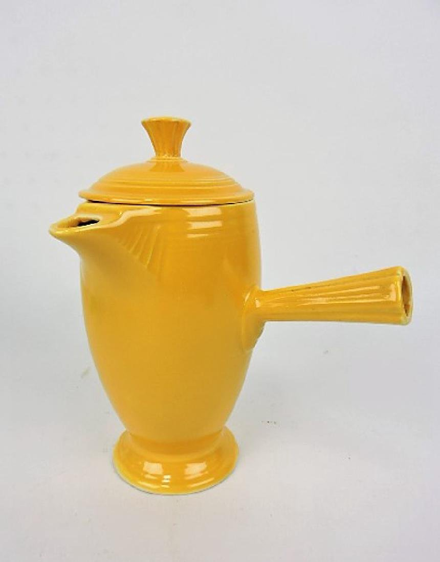 Fiesta demitasse coffee pot, yellow