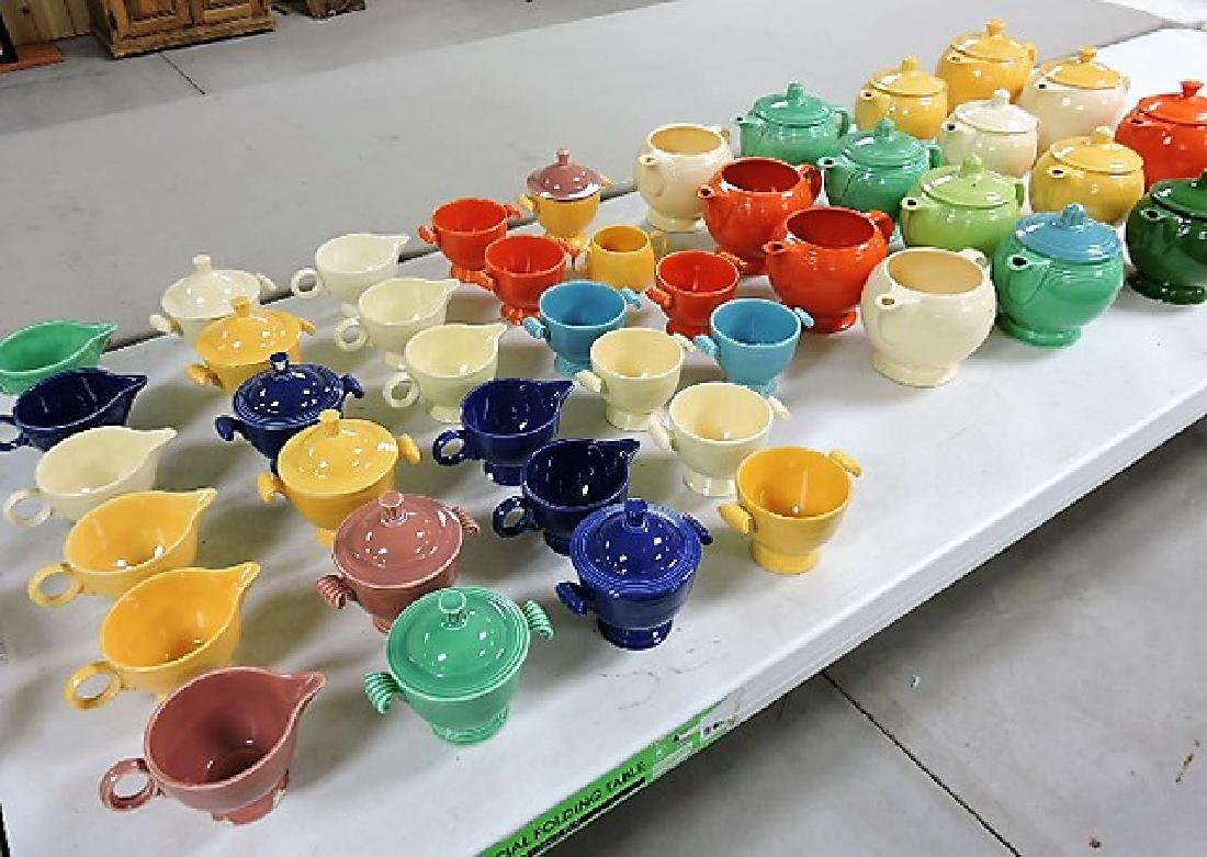 Fiesta lot of 47 pieces, various condition