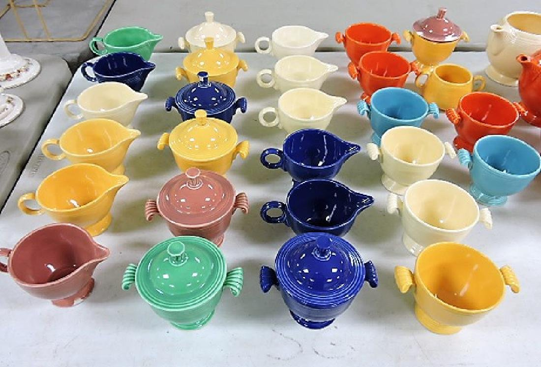Fiesta lot of 47 pieces, various condition - 2