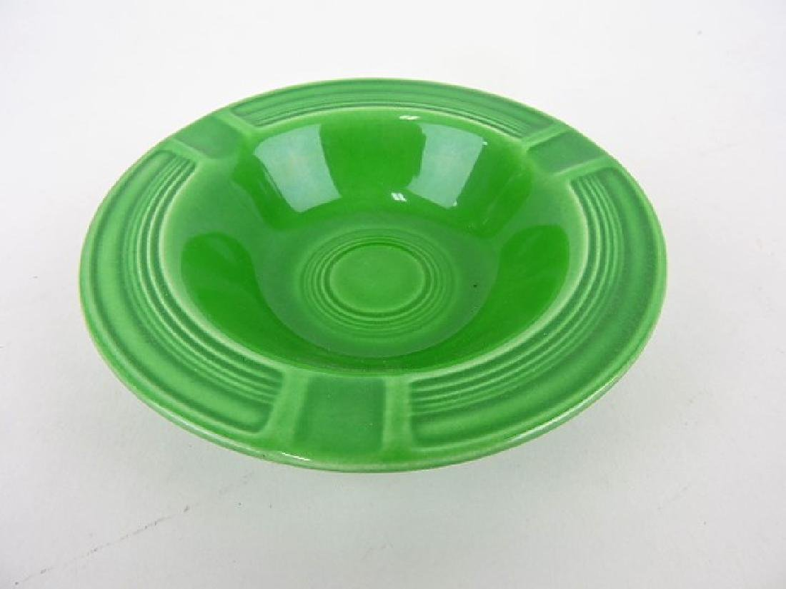 Fiesta ashtray, medium green