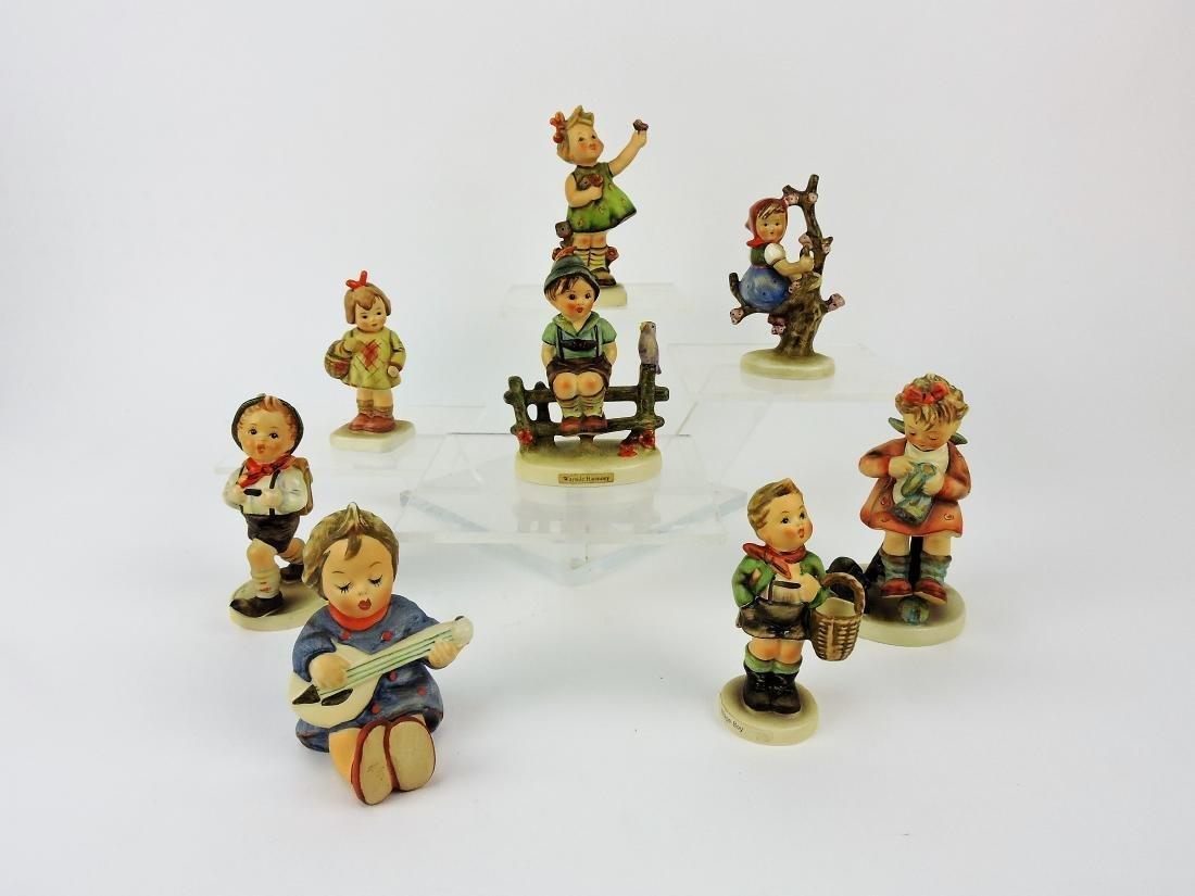 Hummel lot of 8 figurines; 72, 479,