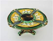 Wedgwood Majolica compote with