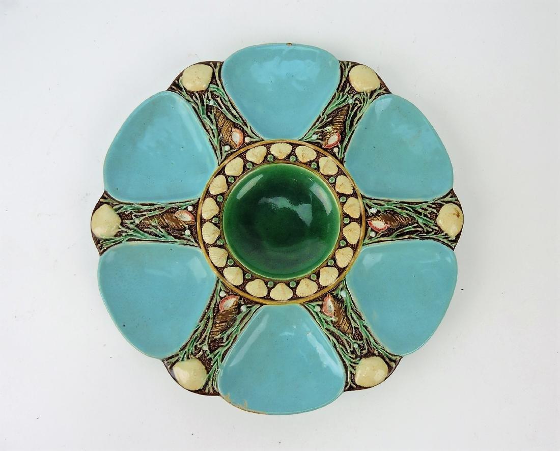 Minton Majolica turquoise 6 well