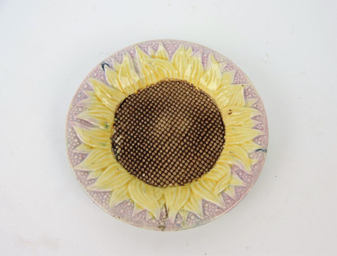 Etruscan Majolica sunflower lavender