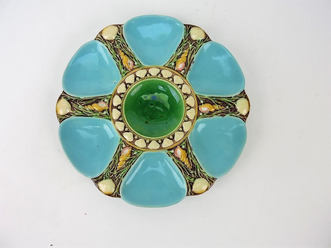 Minton Majolica 6 well turquoise