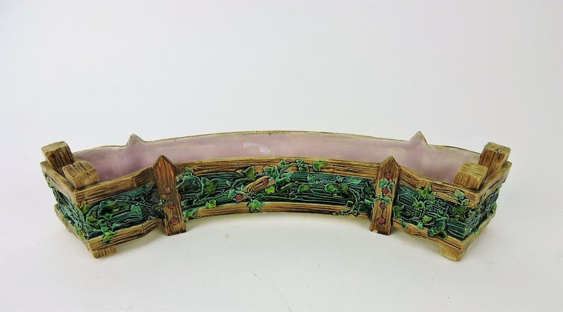 Royal Worchester Majolica curved