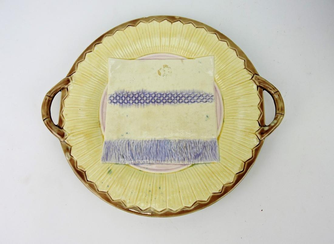 Etruscan Majolica rare napkin and