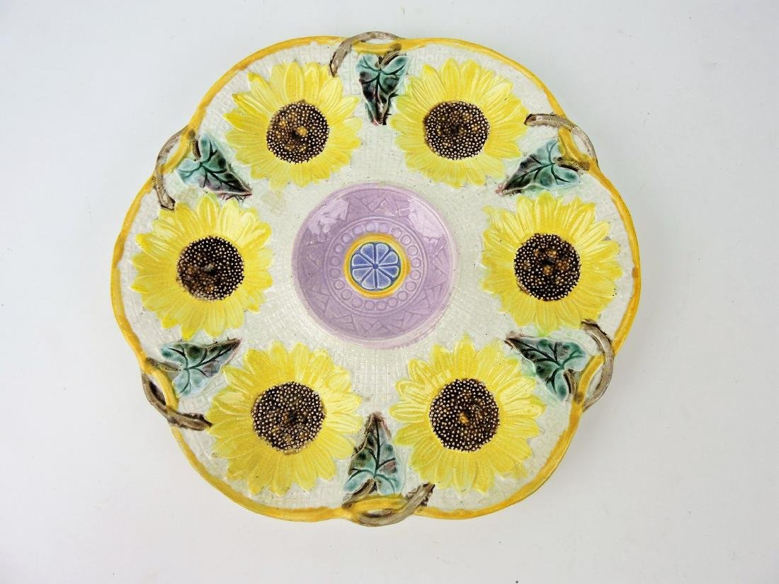 Samual Lear sunflower majolica 6