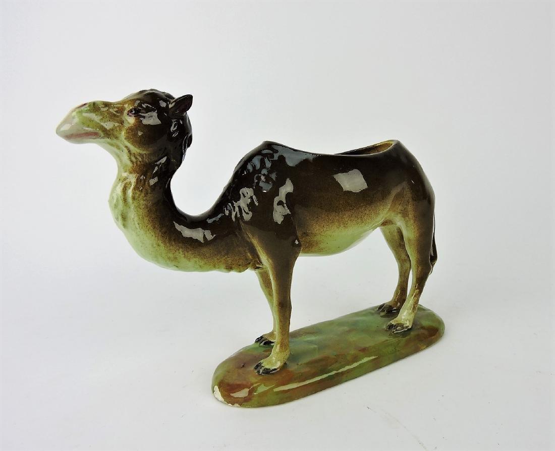 Jerome Massey Majolica camel