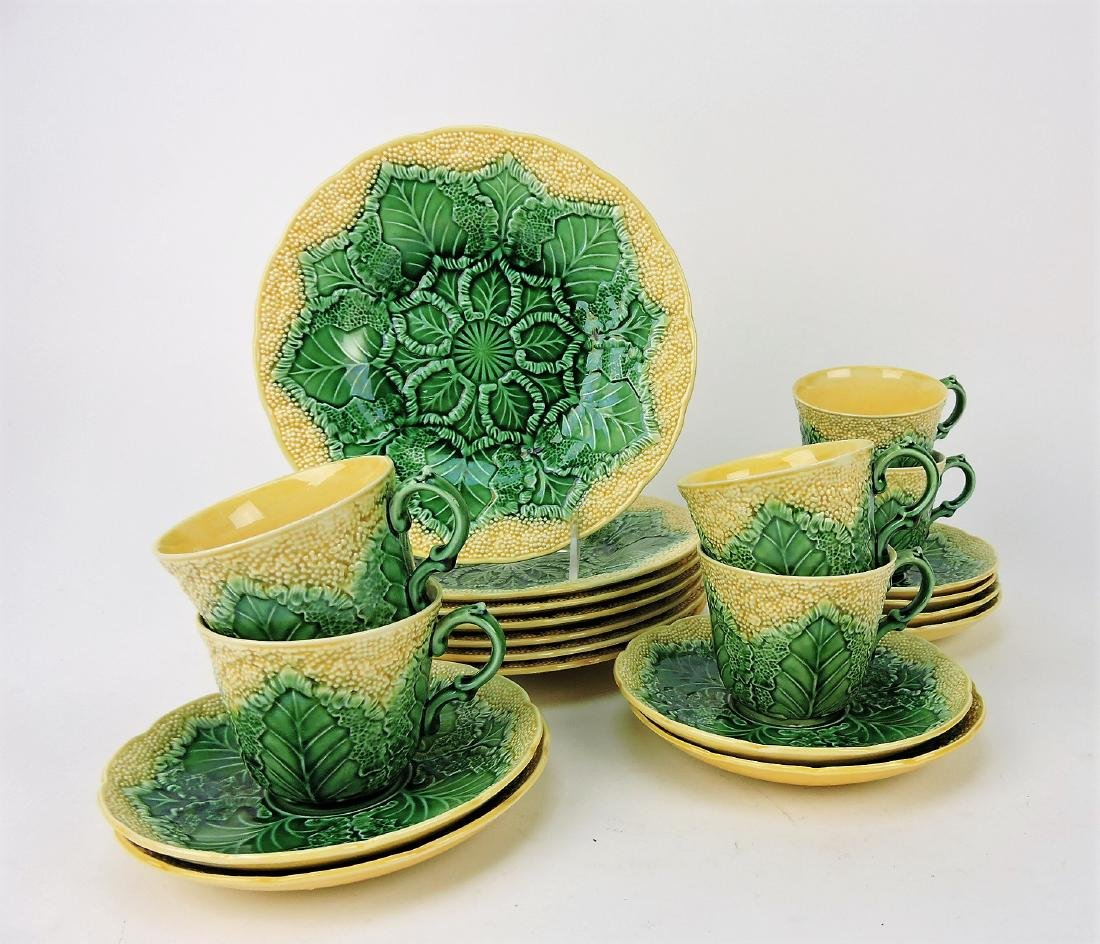 Wedgwood Majolica cauliflower